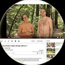 streak youtube club video naked